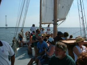 Under Sail - Charleston Harbor