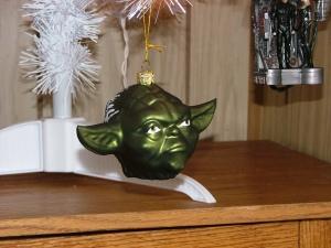 Grumpy Yoda Head